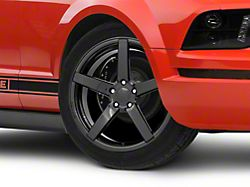 Rovos Durban Gloss Black Wheel; 19x8.5 (05-09 GT, V6)