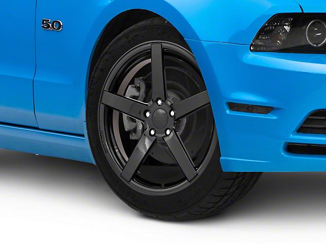 Rovos Durban Gloss Black Wheel; 19x8.5 (10-14 Standard GT, V6)