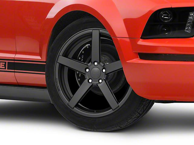 Rovos Durban Satin Black Wheel; 19x8.5 (05-09 GT, V6)