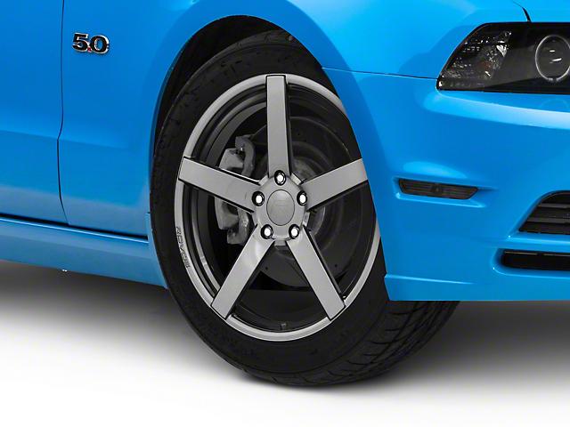 Rovos Durban Gunmetal Wheel; 19x8.5 (10-14 Standard GT, V6)