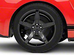 Rovos Durban Gloss Black Wheel; Rear Only; 19x10 (15-20 GT, EcoBoost, V6)