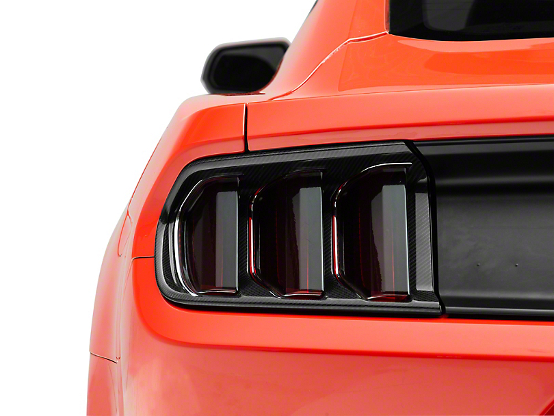 SpeedForm Tail Light Trim - Carbon Fiber (15-17 All, Excluding 50th Anniversary)