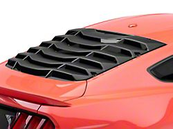 MP Concepts Rear Window Louvers - Matte Black (15-19 Fastback)