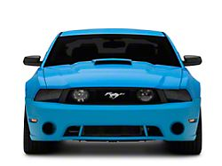 Roush Front Fascia without Fog Lights; Unpainted (10-12 GT)