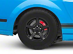 Rovos Durban Drag Gloss Black Wheel; Rear Only; 15x10 (05-09 All)