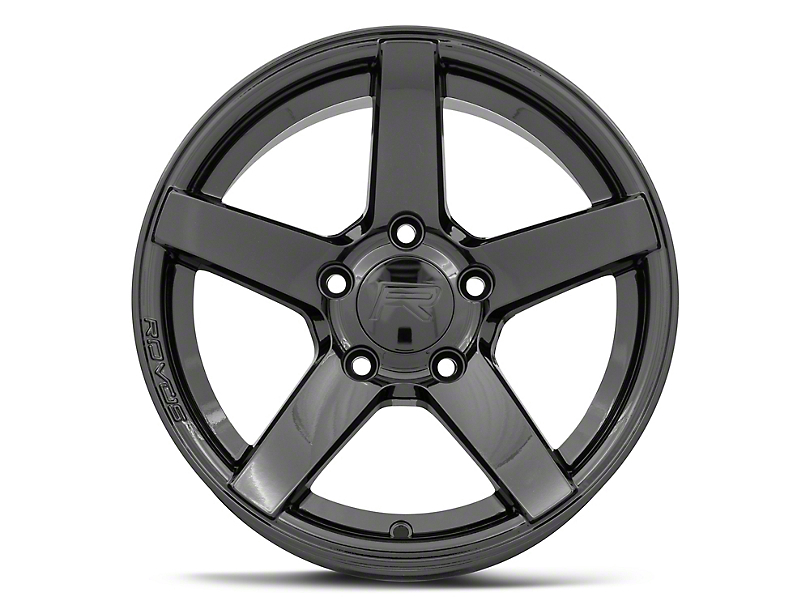 Rovos Durban Drag Gloss Black Wheel; Rear Only; 15x10 (10-14 All)