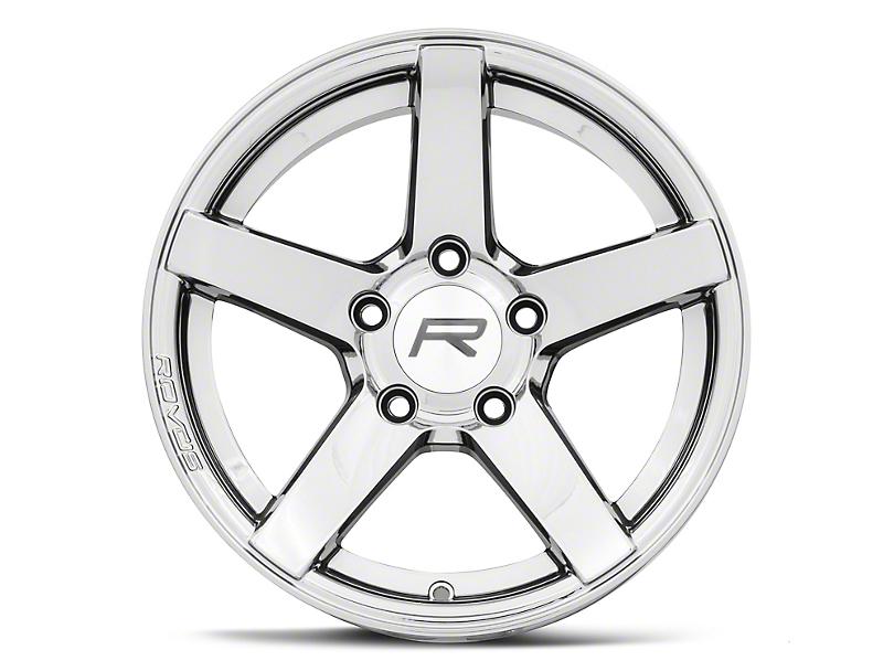 Rovos Durban Drag Black Chrome Wheel - 15x10 - Rear Only (10-14 All)