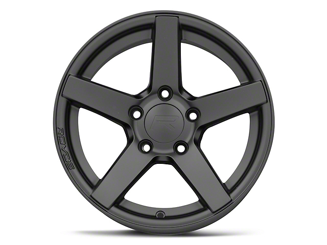 Rovos Durban Drag Satin Black Wheel; Rear Only; 15x10 (10-14 All)