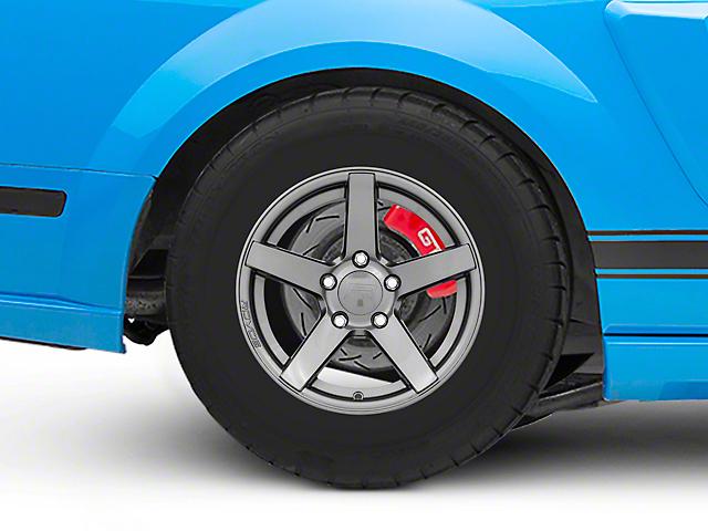 Rovos Durban Drag Gunmetal Wheel; Rear Only; 15x10 (05-09 All)