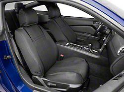 Alterum Neoprene Front Seat Covers; Black (05-14 All)