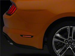 MP Concepts LED Side Marker Lights; Rear; Smoked (18-20 All)