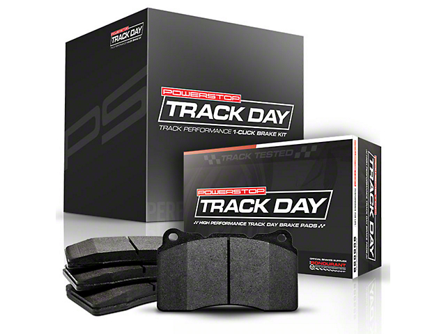 Power Stop Track Day Brake Rotor & Pad Kit - Front (15-19 Standard GT, EcoBoost w/ Performance Pack)
