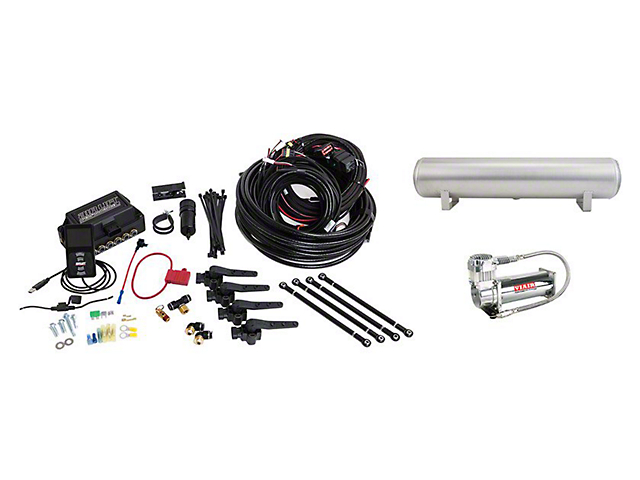 Air Lift Performance 3H Complete Air Suspension Kit; 3/8-Inch Lines (05-14 All)