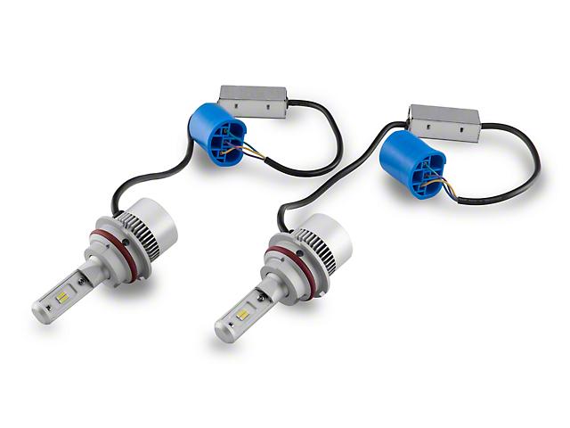 Axial Headlight LED Bulbs; 9007 (94-04 All)