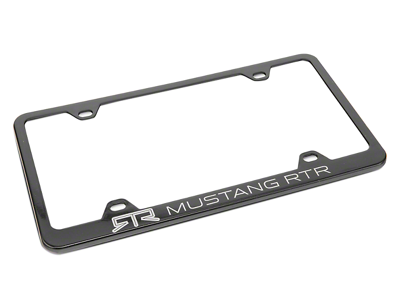RTR License Plate Frame (Universal Fitment)