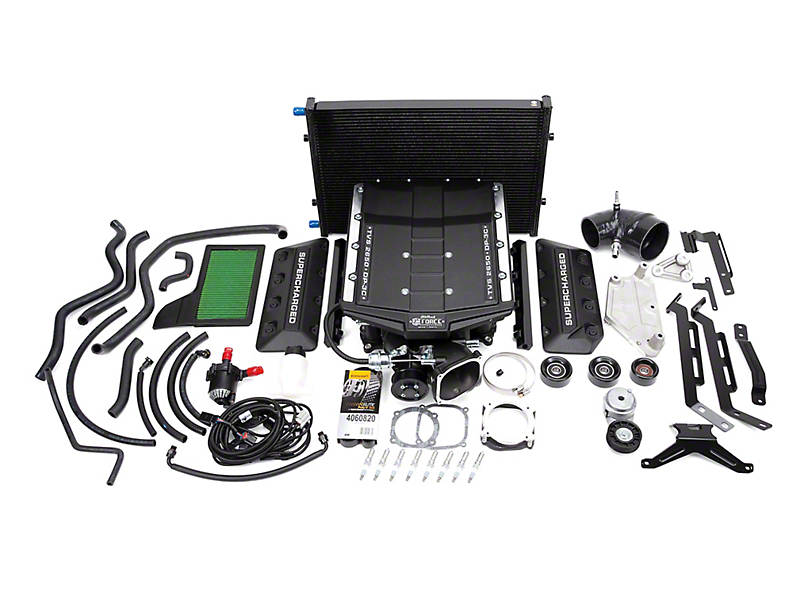 Edelbrock E-Force Stage 1 Street Supercharger Kit without Tuner (18-20 GT)