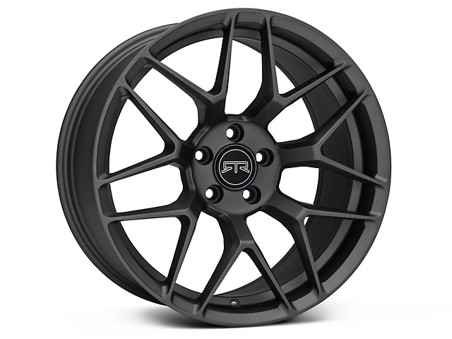 RTR Tech 7 Gunmetal Wheel and NITTO NT555 G2 Tire Kit; 19x9.5 (15-20 GT, EcoBoost, V6)