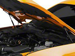 MMD Bolt On Hood Strut Kit; Black (15-21 GT, EcoBoost, V6)