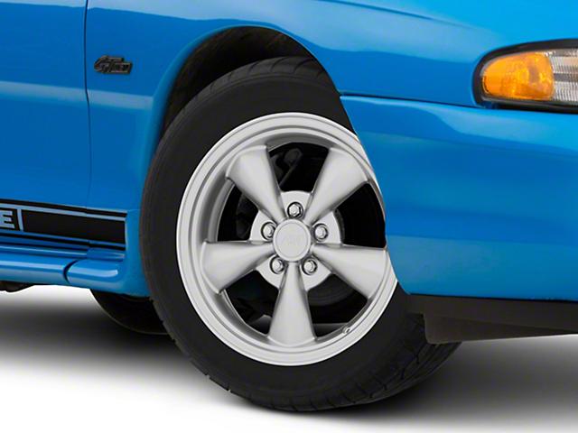 Bullitt Solid Anthracite Wheel; 17x8 (94-98 All)