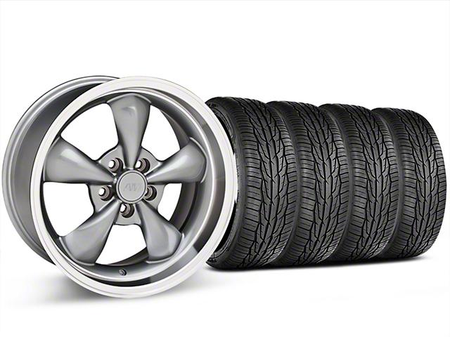 Bullitt Anthracite Wheel and Toyo Extensa High Performance II A/S Tire Kit; 18x9 (05-10 GT; 05-14 V6)