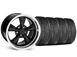 Staggered Bullitt Black Wheel & Toyo Extensa High Performance II A/S Tire - 17x9/10.5 (99-04 All)