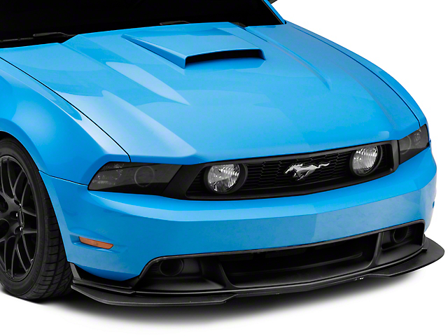Cervini's GT/CS Chin Spoiler Splitter w/ Fog Lights - Unpainted (10-12 GT, BOSS 302)