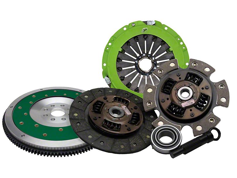 Fidanza V2 Qwik-Rev Ceramic Clutch Kit with Flywheel; 26 Spline (86-95 5.0L)