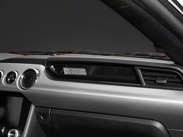 SpeedForm Passenger Dash Trim; Carbon Fiber Style (15-20 All)