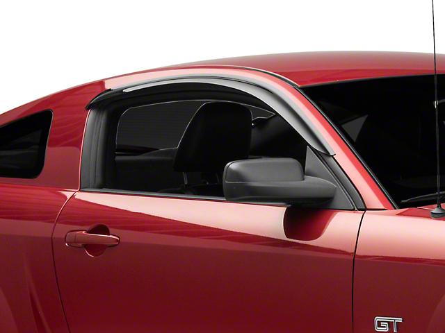 SpeedForm Window Deflectors; Smoked (05-09 Coupe)