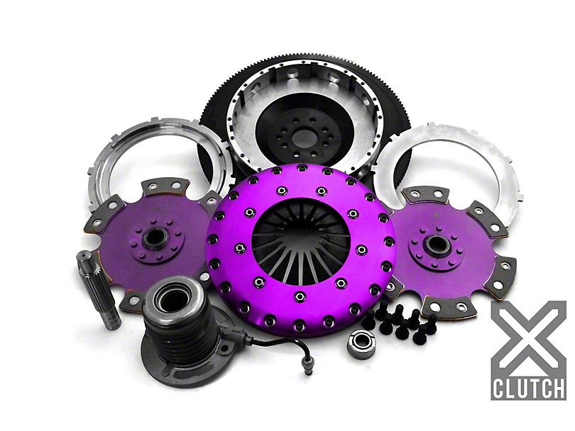 X-Clutch Race Ceramic Twin Disc Clutch Kit w/ Flywheel (11-17 GT)