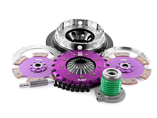 X-Clutch Race Ceramic Twin Disc Clutch Kit with Flywheel (18-20 GT)