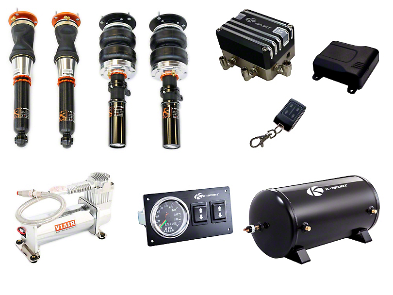 Ksport Airtech Delux Air Suspension Kit (15-20 w/o MagneRide)