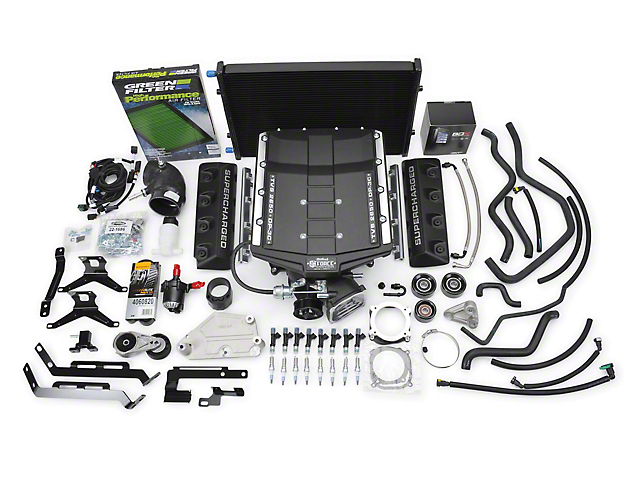 Edelbrock E-Force Stage 1 Street Supercharger Kit with Tuner (15-17 GT)