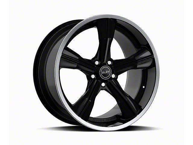 Shelby CS11 Gloss Black Wheel; Rear Only; 20x11 (05-09 All)