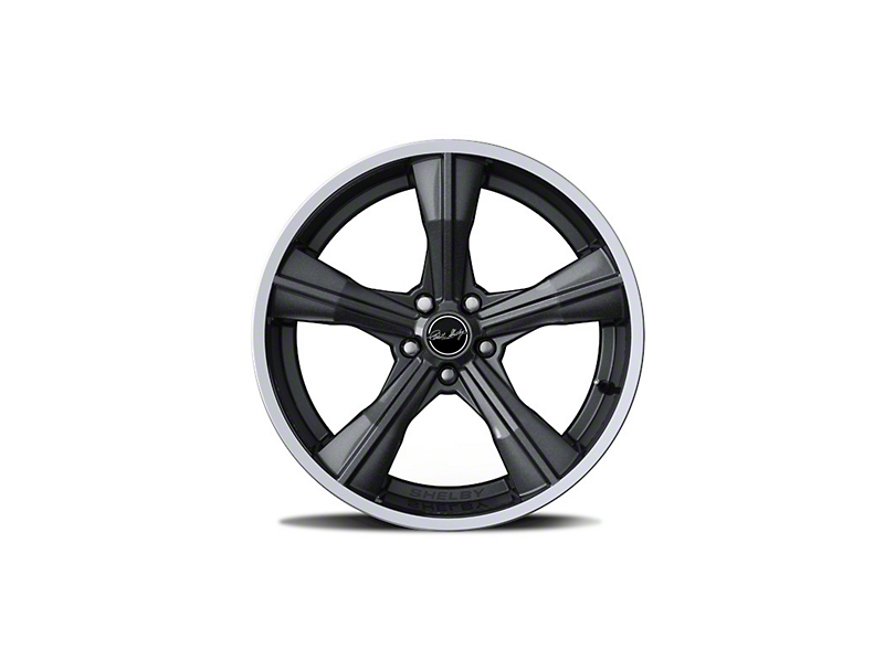 Shelby CS11 Gunmetal Wheel; Front Only; 20x9.5 (10-14 All)