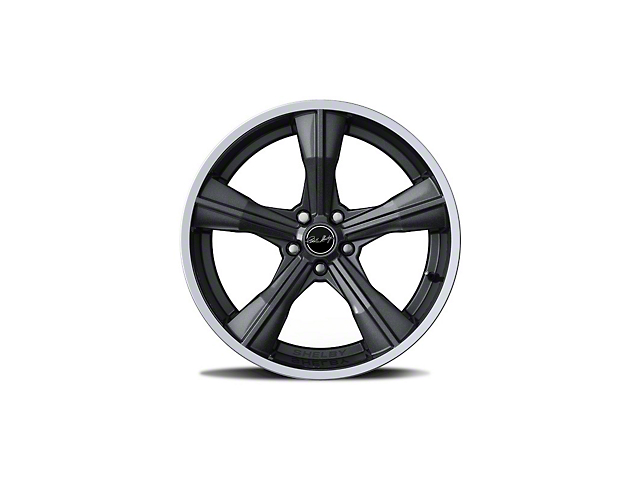 Shelby CS11 Gunmetal Wheel; Front Only; 20x9.5 (15-21 GT, EcoBoost, V6)