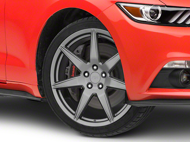 2020 GT500 Style Charcoal Wheel; 20x10 (15-21 GT, EcoBoost, V6)