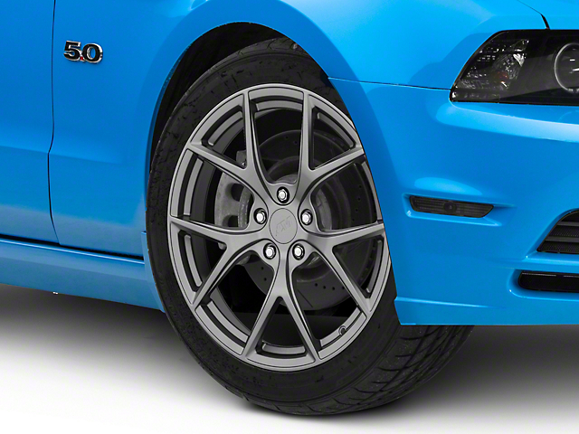 Performance Pack 2 Style Charcoal Wheel; 19x8.5 (10-14 All)