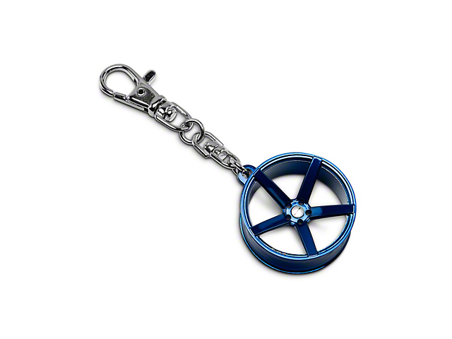 Rovos Durban Wheel Key Chain