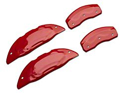 Red Caliper Covers; Front and Rear (18-21 Standard GT, EcoBoost w/ Performance Pack)