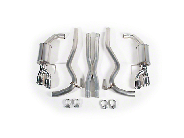 Roush Cat-Back Exhaust (18-20 GT Fastback w/o Active Exhaust)