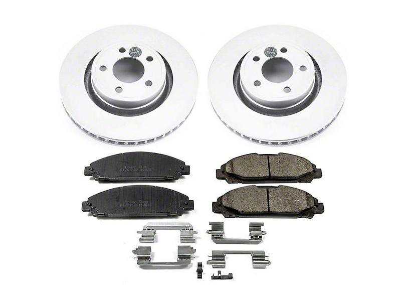 Power Stop Z17 Evolution Plus Brake Rotor & Pad Kit - Front (15-20 Standard EcoBoost, V6)