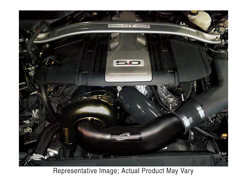 Procharger Stage II Intercooled Supercharger Kit; Black Finish (18-19 GT)