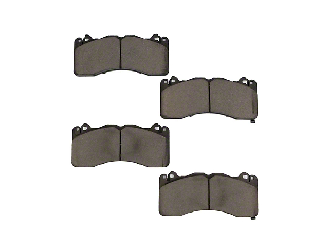 Pedders SportsRyder eXtreme Brake Pads; Rear Pair (15-20 GT, EcoBoost w/ Performance Pack)
