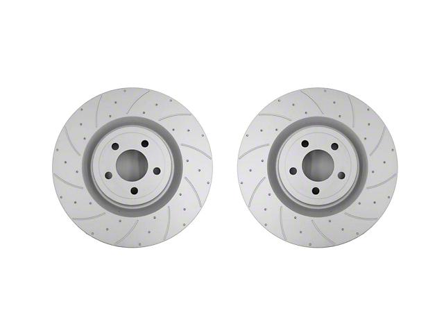 Pedders SportsRyder Rotors; Front Pair (15-20 GT w/ Performance Pack)