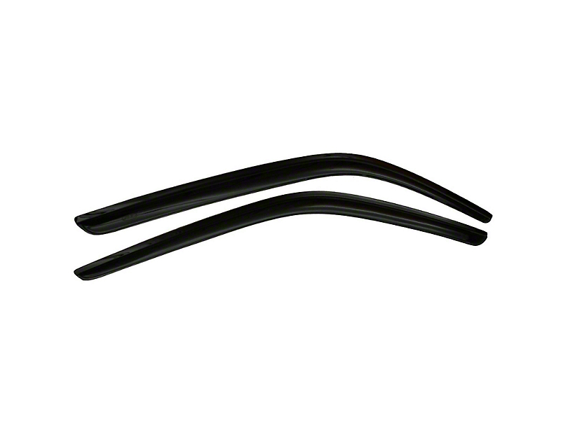 Ventvisor Side Window Deflectors - Dark Smoke (15-20 Fastback)