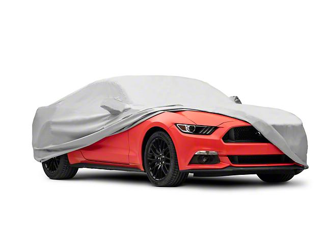 Covercraft WeatherShield HP Custom Fit Car Cover; Tri-Bar Pony Logo (15-20 Fastback)