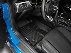 TruShield Precision Molded Front and Rear Floor Liners; Black (15-21 All)