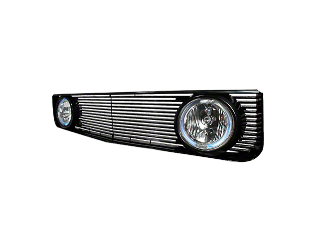 GT Style Grille with Halo Fog Lights (05-09 V6)