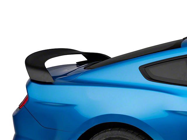 GT350R Style Rear Spoiler; Matte Black (15-21 Fastback)